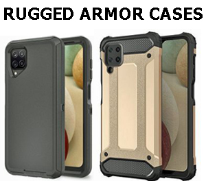 What are the benefits of the Rugged Armor Case?